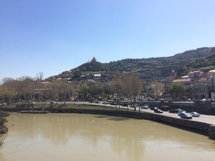 Fluss Kura Tiflis