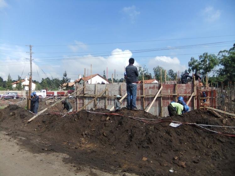 Baustelle Kenia Nairobi Afrika