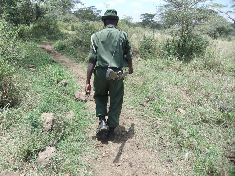 Wildhüter Safari Kenia