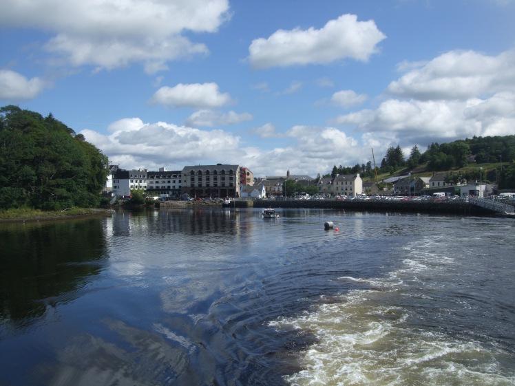 Rundreise Irland Natur Boot