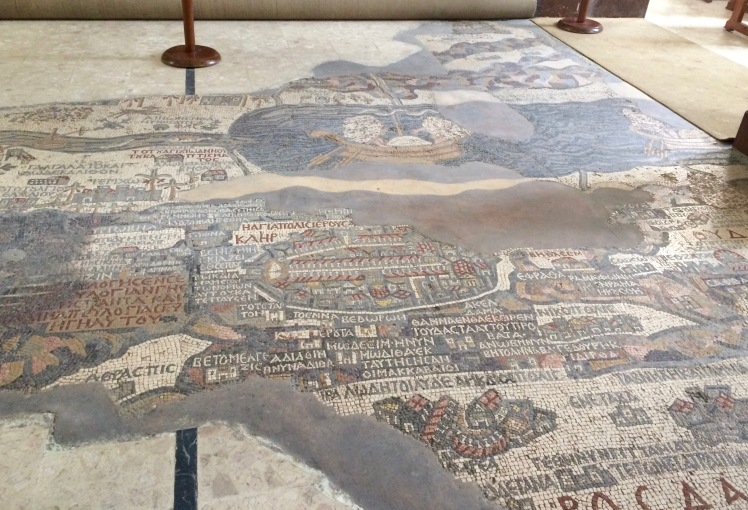 Mosaik Jordanien Rundreise Madaba