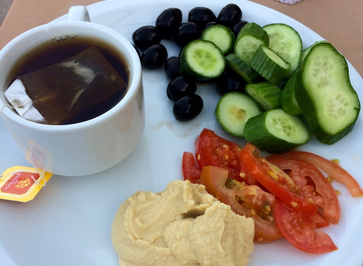 Frühstück Jordanien Rundreise