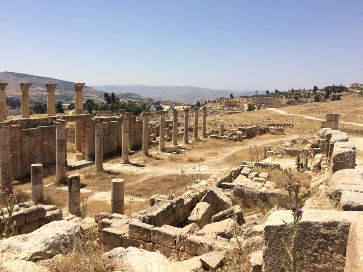 Jerash Jordanien Rundreise