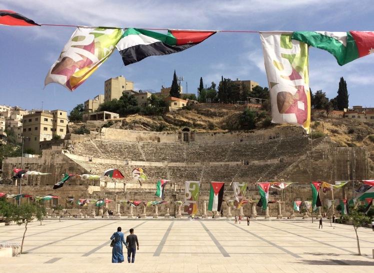 Jordanien römisches Theater Amman