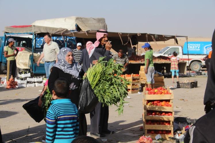 Markt Jordanien Rundreise