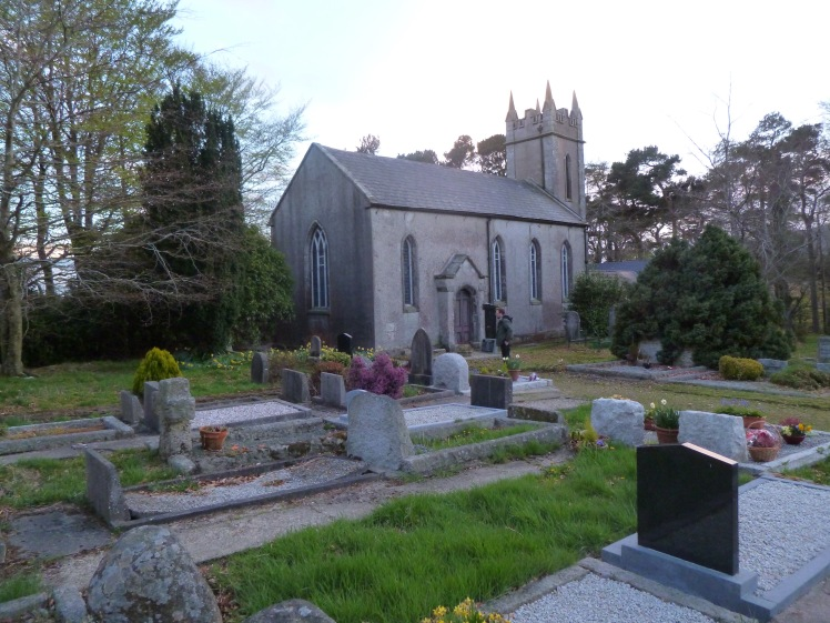 Kirche Friedhof Irland Rundreise