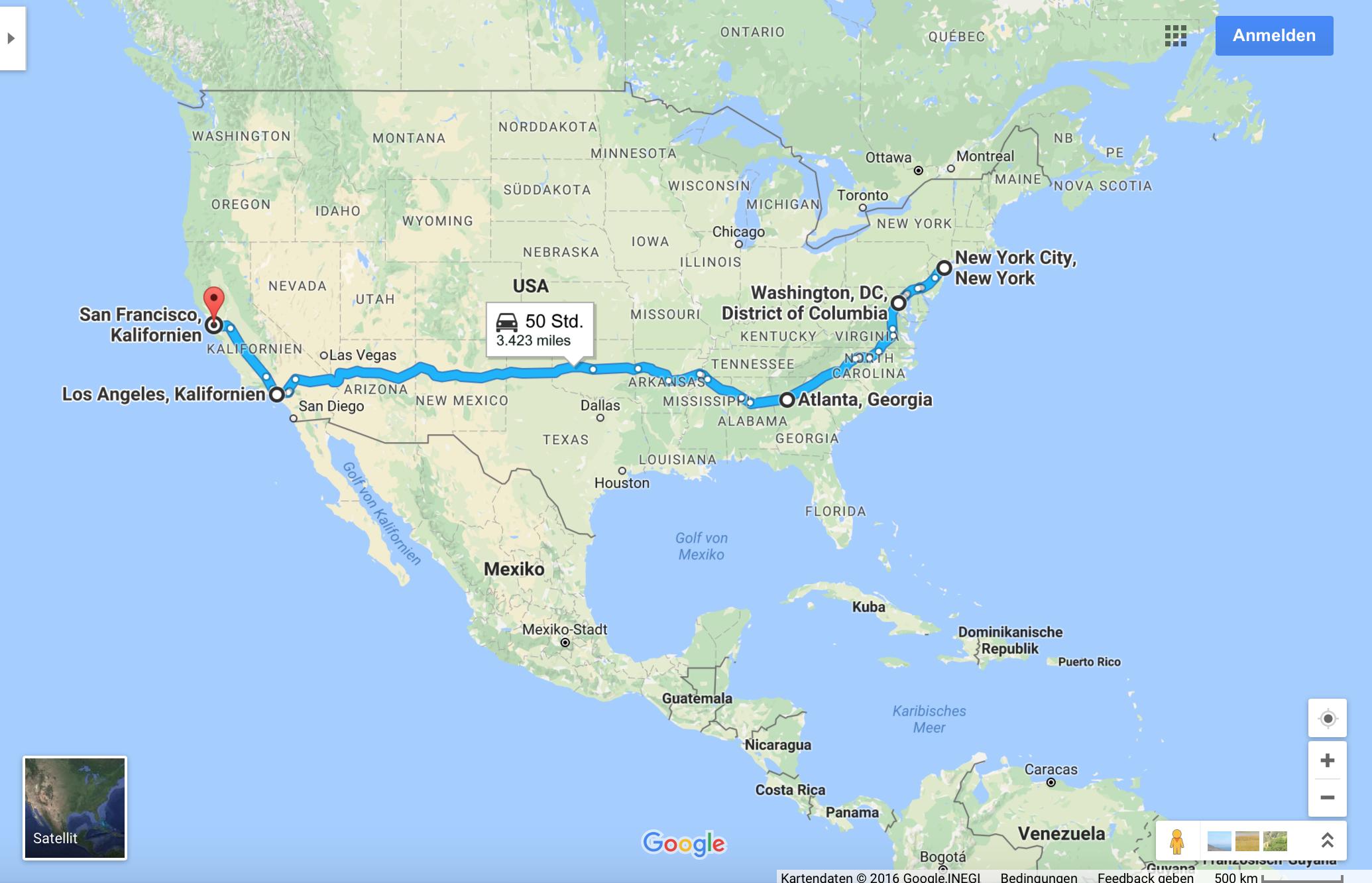 Reise USA