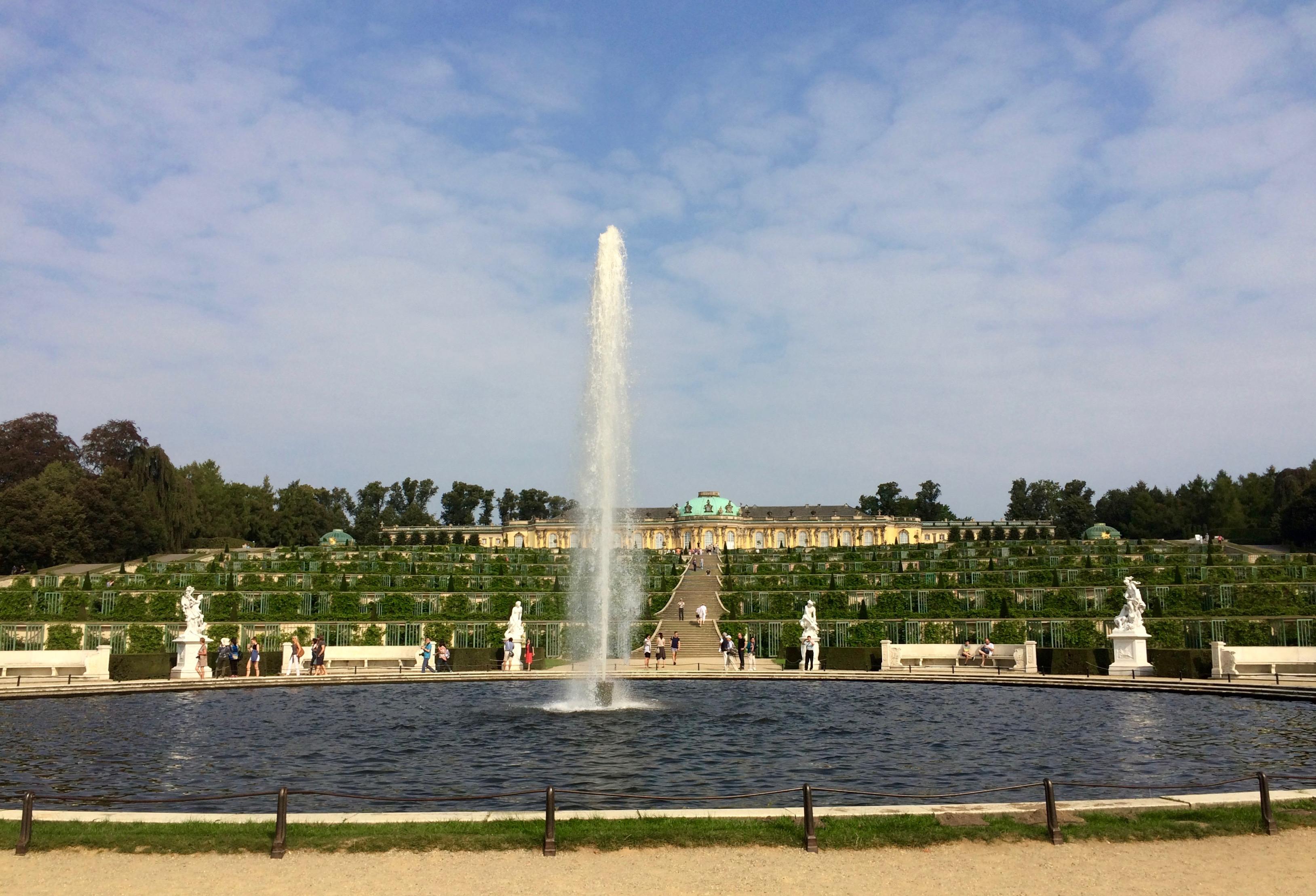 Schloss Sanssouci Berlin Potsdam