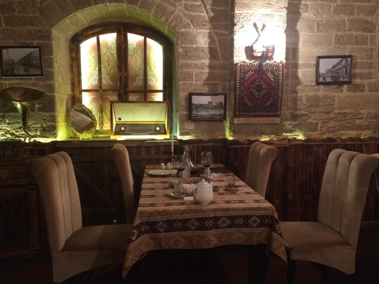 Traditionelles Restaurant Baku
